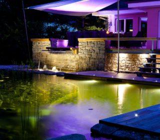 Schwimmteichbeleuchtung
