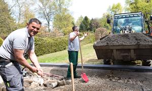 Stellenangebot Gartengestaltung