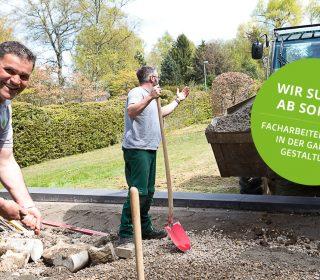 Facharbeiter (m/w) in der Gartengestaltung